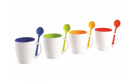 MUG MULTI COULEURS PAR 4