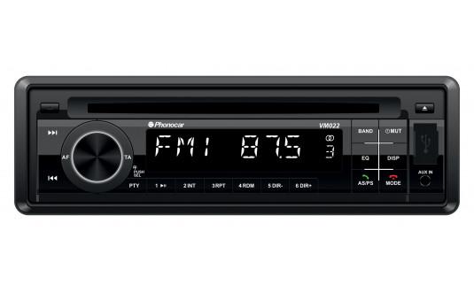 AUTORADIO DAB+ USB ET CARTE SD BLUETOOTH AVEC LECTEUR CD