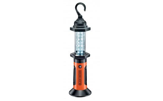 LAMPE BALADEUSE ROTATIVE AVEC CROCHET BLACK+DECKER 14 LEDS