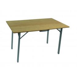 TABLE VALISE BAMBOU 100 x 72 x 70 CM SOPLAIR