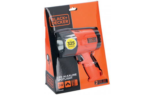 LAMPE TORCHE LED BLACK + DECKER 375 LUMEN