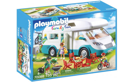 PLAYMOBIL CAMPING-CAR ET FAMILLE