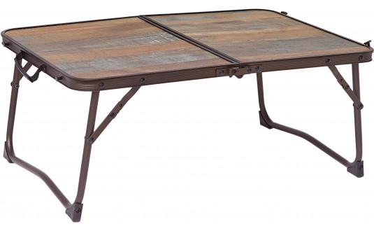 TABLE VALISE MINI - DESIGN BOIS FLOTTÉ