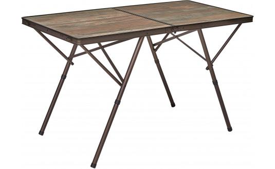 TABLE VALISE PREMIUM - DESIGN BOIS FLOTTÉ