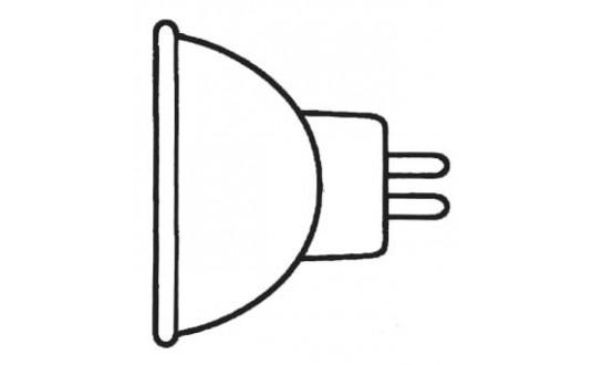 AMPOULE HALOGENE 12V MR16 20W