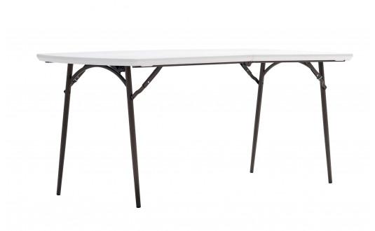 TABLE POLYÉTHYLÈNE PLIANTE 180 TRIGANO