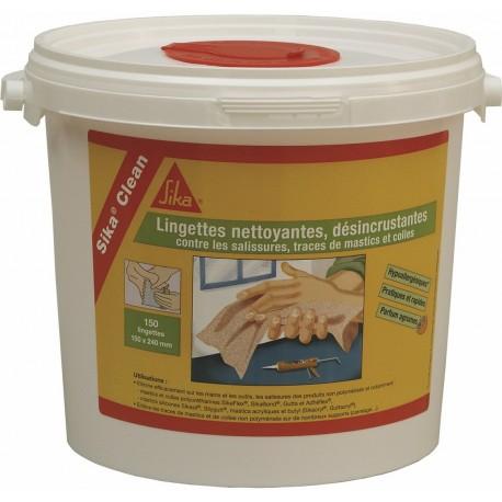 PRODUIT D'ENTRETIEN SIKA CLEAN LINGETTE NETTOYANTE PAR 250