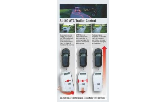 ACCESSOIRE ATTELAGE ALKO STABILISATEUR ATC CHASSIS ALKO 750-1300 KG