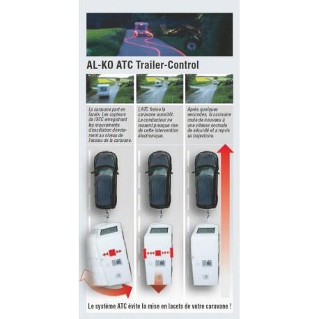 ACCESSOIRE ATTELAGE ALKO STABILISATEUR ATC CARAVANE HOBBY 750-1300 KG