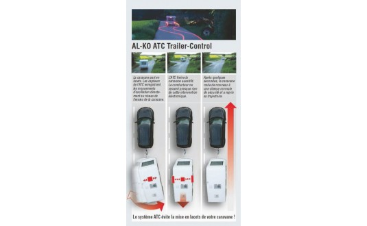 ACCESSOIRE ATTELAGE ALKO STABILISATEUR ATC CHASSIS ALKO 1501-1800 KG