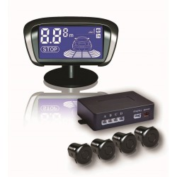 radar de recul moove 4 capteurs buzzer sans fil top accessoires. Black Bedroom Furniture Sets. Home Design Ideas