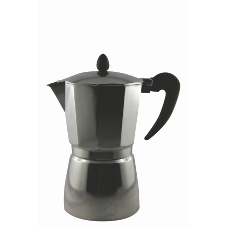 CAFETIERE ITALIENNE 9 TASSES POUR CAMPING-CARS