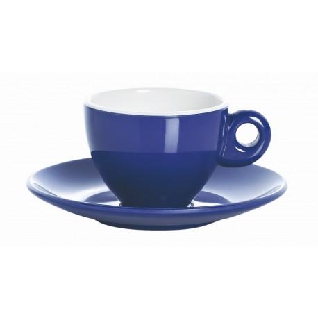 SET DE 2 TASSES À CAFE EXPRESSO BLEU PASTEL EN MELAMINE POUR CAMPING