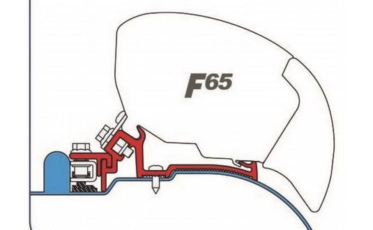 ADAPTATEUR STORE FIAMMA F65 IVECO DAILY H2 2 + 1