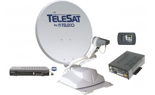 ANTENNE AUTOMATIQUE TELECO TELESAT 65 CM + DEMO HD