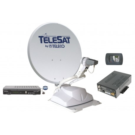ANTENNE AUTOMATIQUE TELECO TELESAT 65 CM + DEMO HD