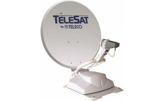ANTENNE AUTOMATIQUE TELECO TELESAT 85 CM + DEMO HD
