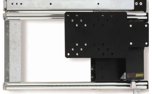 SUPPORT TV VERTICAL COULISSANT GAUCHE 413 MM