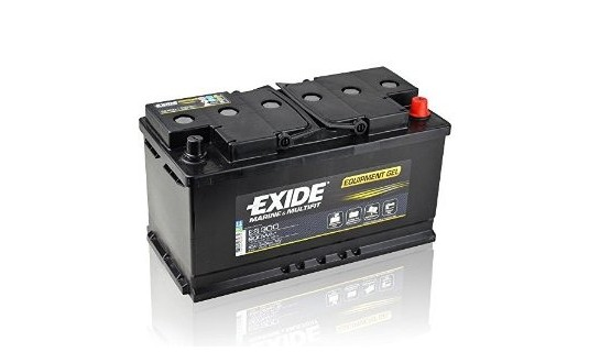 BATTERIE STATIONNAIRE MOOVE GEL EXIDE ES900 80A SPECIAL CAMPING-CARS