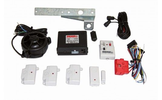 ALARME GEMINY KIT DUCATO X250 X290 IVECO EURO 5 POUR CAMPING CAR