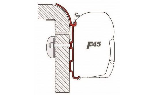 ADAPTATEUR STORE FIAMMA F45 BURSTNER 2 + 1