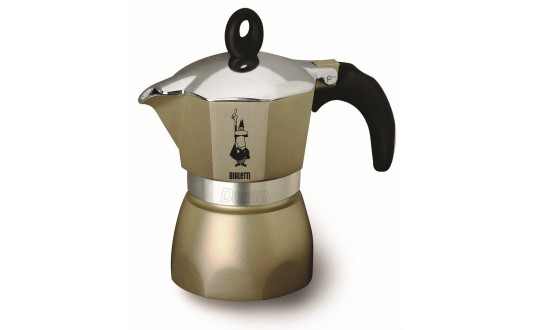 CAFETIERE ITALIENNE GLAMOUR 6 TASSES PERLE