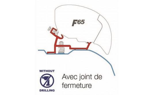 ADAPTATEUR STORE FIAMMA F65 DUCATO / JUMPER / BOXER TOIT HAUT APRÈS 2006 PAR 2