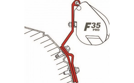 ADAPTATEUR STORE FIAMMA F35 PRO VW T4 LIFT ROOF PAR 2