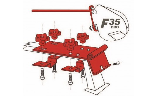 ADAPTATEUR STORE FIAMMA F35 PRO STANDARD PAR 2