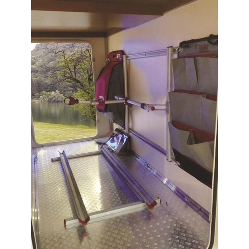 rangement soute fiamma garage pack plus top accessoires. Black Bedroom Furniture Sets. Home Design Ideas