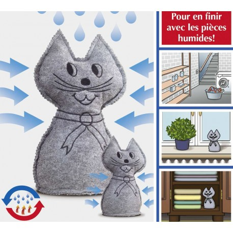 ABSORBEUR D'HUMIDITE CHAT 1 KG
