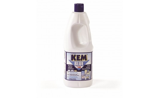PRODUIT WC SUPER KEM BLUE 2 L