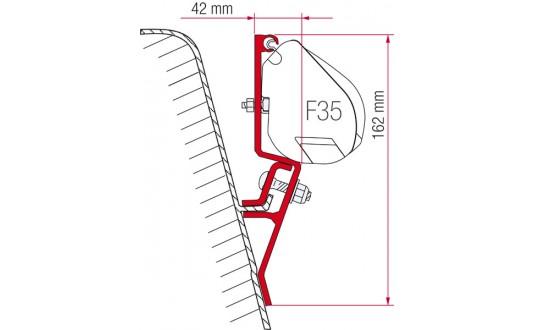 ADAPTATEUR STORE FIAMMA F35 PRO VW T3 PAR 2