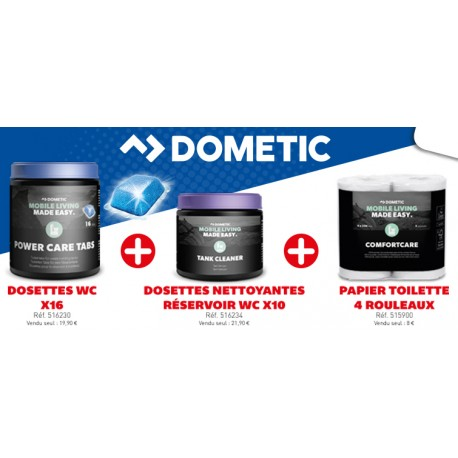 KIT SANITAIRE COMPLET DOMETIC 3 PIECES