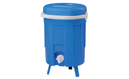FONTAINE ISOTHERME 8 L BLEU POUR CAMPING