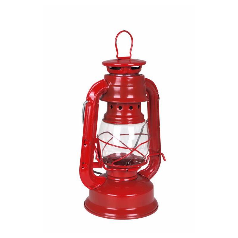 lanterne rouge bougie chauffe plat 19 cm vintage top. Black Bedroom Furniture Sets. Home Design Ideas