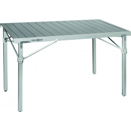 Table titanium quadra 6 places top accessoires for Table 6 places