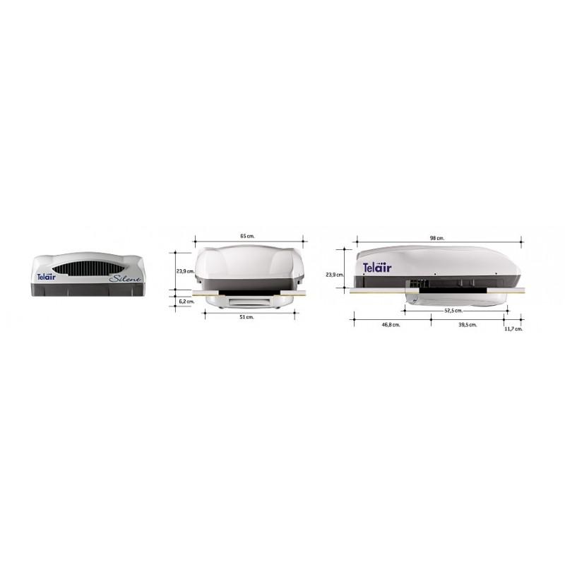 climatiseur telair silent 7400h top accessoires. Black Bedroom Furniture Sets. Home Design Ideas