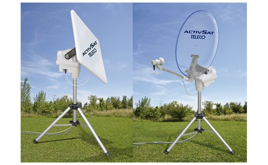 KIT SATELLITE PORTABLE AUTOMATIQUE ACTIVSAT CARRE