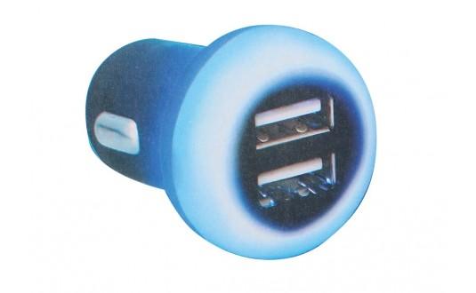 CHARGEUR USB DOUBLE RETROECLAIRAGE