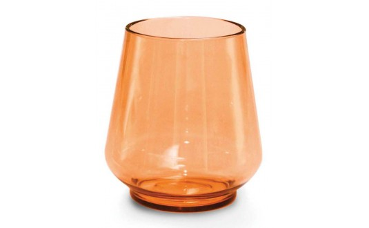 SET 4 VERRES TRITAN INCASSABLES ORANGE
