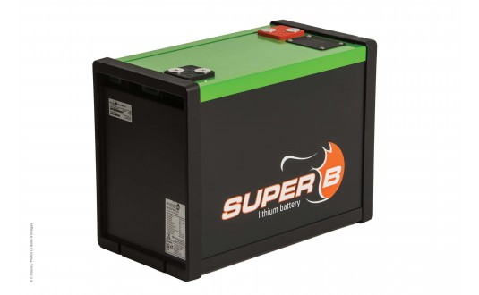 BATTERIE LITHIUM ANTARION BY SUPER B 100 A AVEC RELAIS