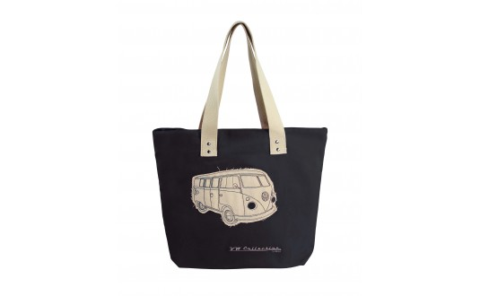 SAC DE PLAGE VW CANVAS NOIR