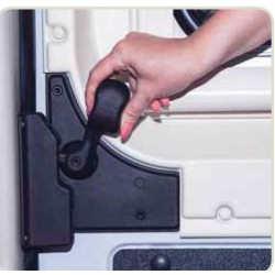 SERRURE VAN SECURITY HEOSAFE FIAT DUCATO X250/X290 AP 2006