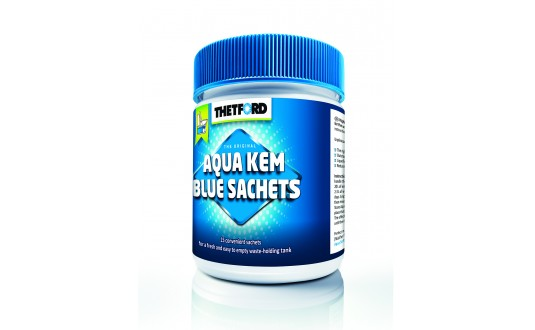 AQUA KEM BLUE THETFORD 15 SACHETS + 3 GRATUITS