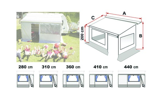 STORE FIAMMA PRIVACY ROOM CS LIGHT F35PRO CARAVANE 280