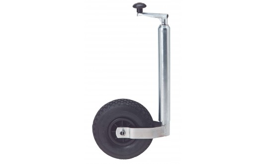 ROUE JOCKEY 48 GALET GONFLABLE