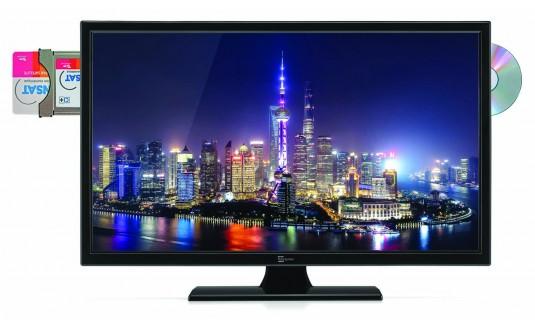 TV LED 19' ZERN-RAD DVD + CARTE FRANSAT