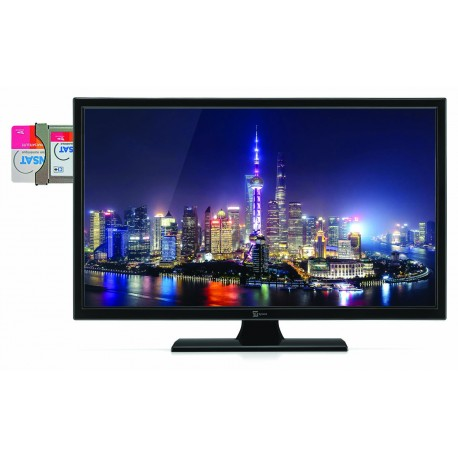 TV LED 19' ZERN-RAD + CARTE FRANSAT