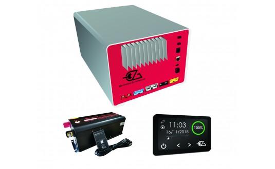 PACK LUXE EZA 130 SANS SOLAIRE AVEC MPPT INTEGRE+ BOOSTER MBB50 + CONVERTISSEUR